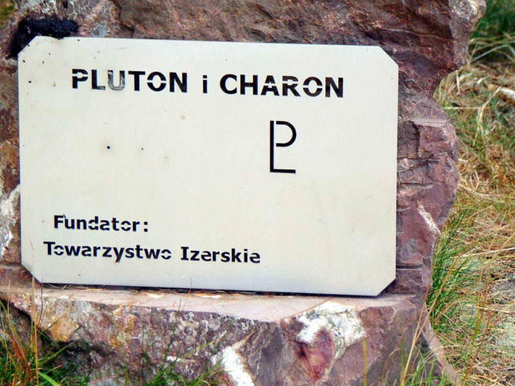 Pluton (planeta karłowata) i jego księżyc Charon