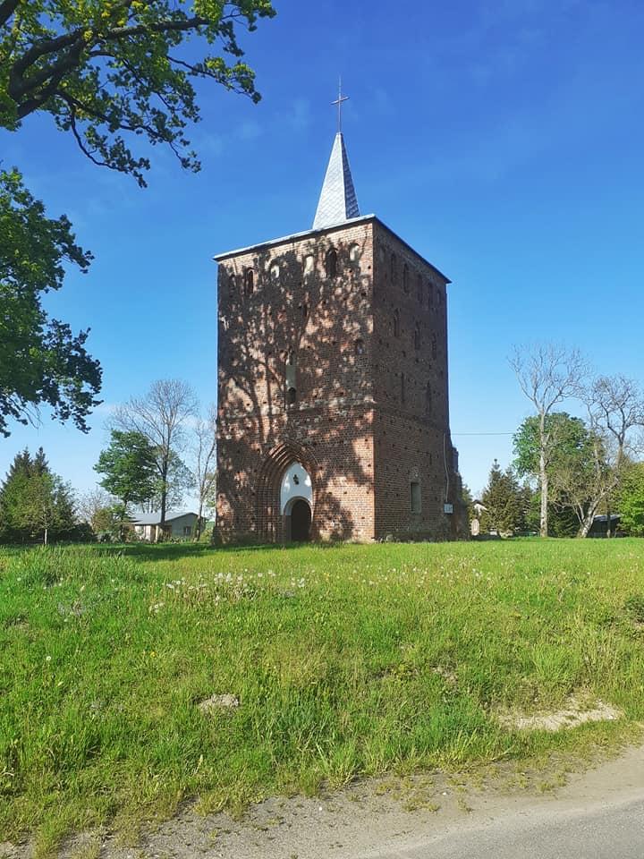 wieża kościoła w Cieszynie