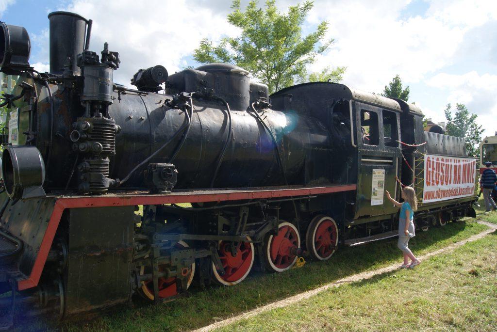 Kolej wąskotorowa - parowóz Px48