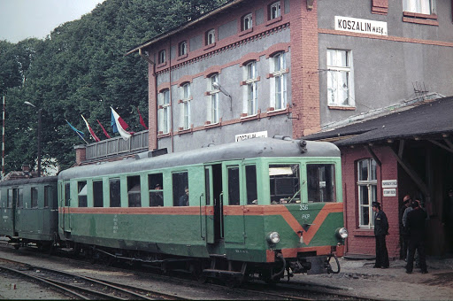 Dworzec wąskotorowy w Koszalinie
