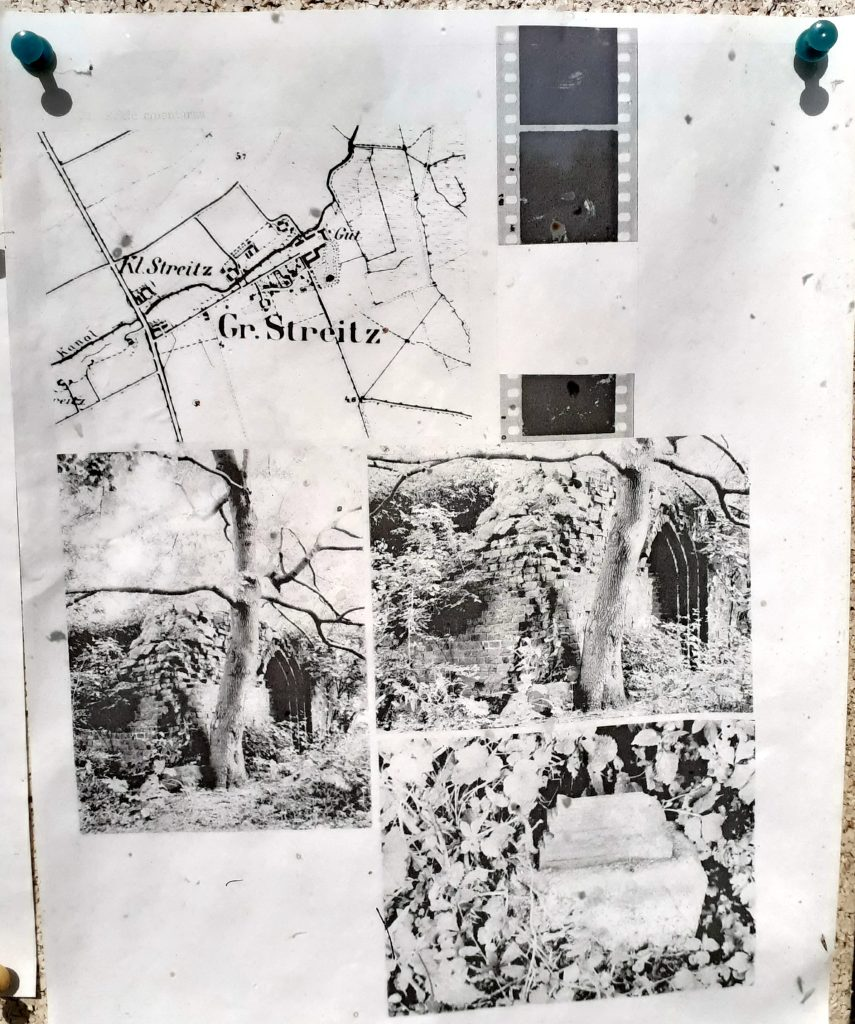 Tak wyglądały ruiny przed ich uporządkowaniem