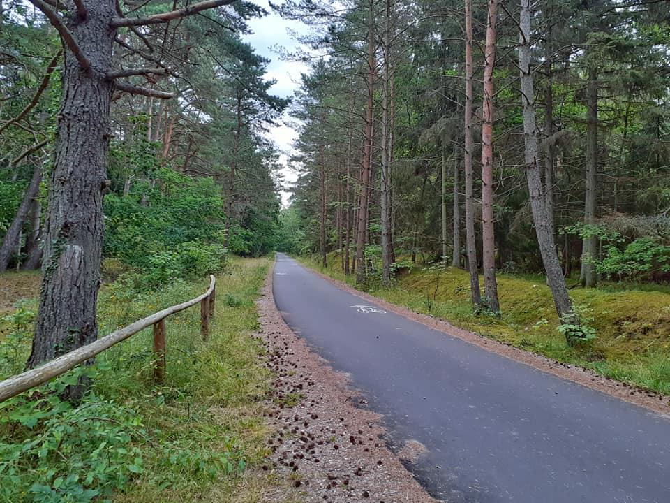 """Droga rowerowa """"10"""", """"13"""" - Mielno - Kołobrzeg"""