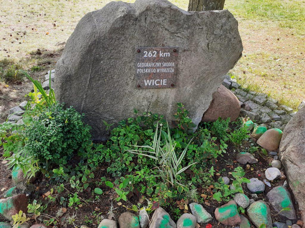 Geograficzny środek polskiego wybrzeża