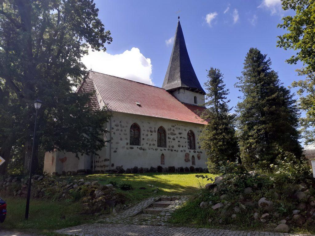 Kościół w Łącku