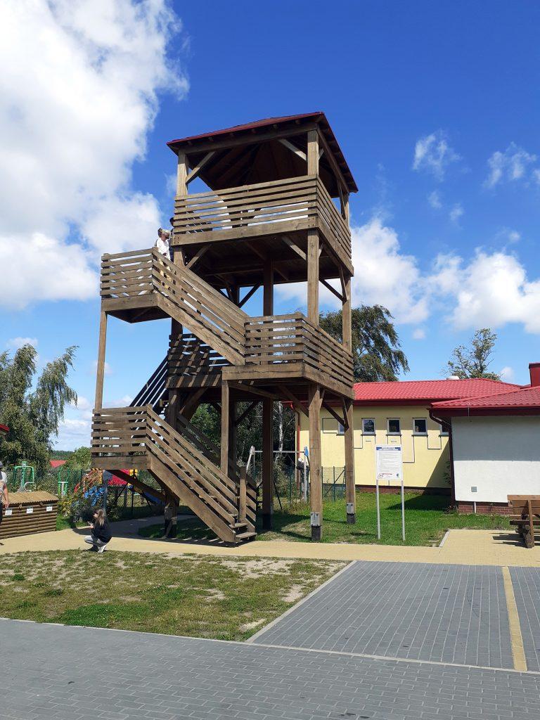 Wieża widokowa w Rusinowie