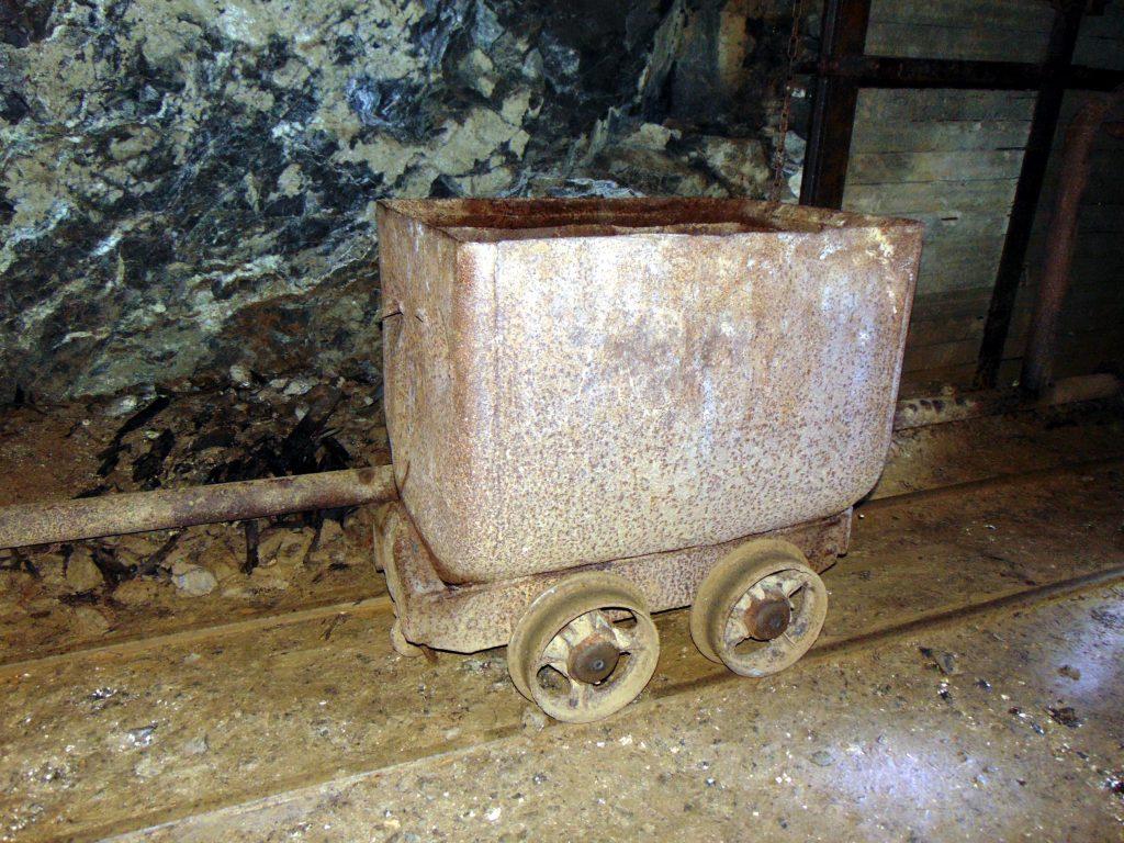 Wózek kopalniany