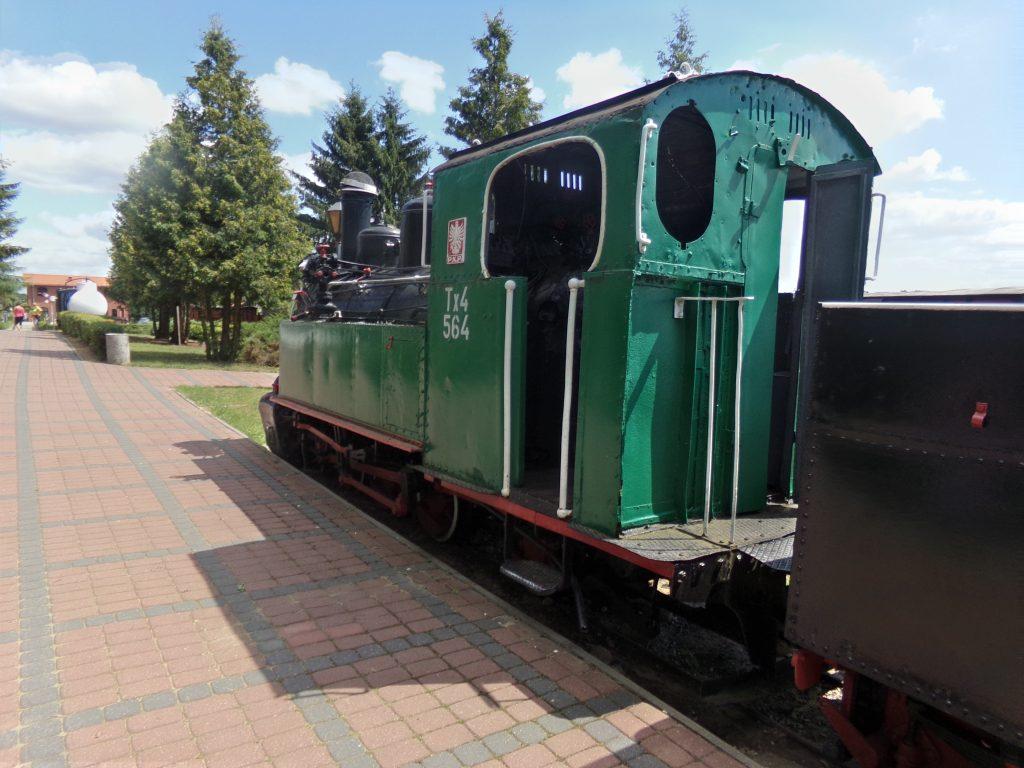 Lokomotywa serii Tx4, który powstał w 1923 w firmie Hanomag