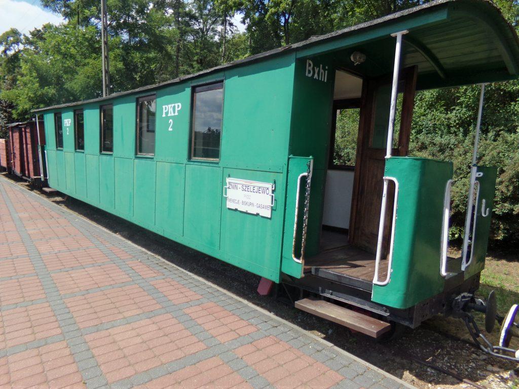 Wąskotorowy wagon osobowy klasy drugiej