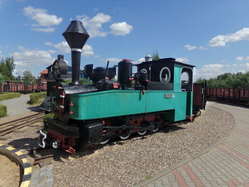 HF – typ niemieckiego parowozu wąskotorowego, potocznie nazywany w Niemczech Brigadelok.