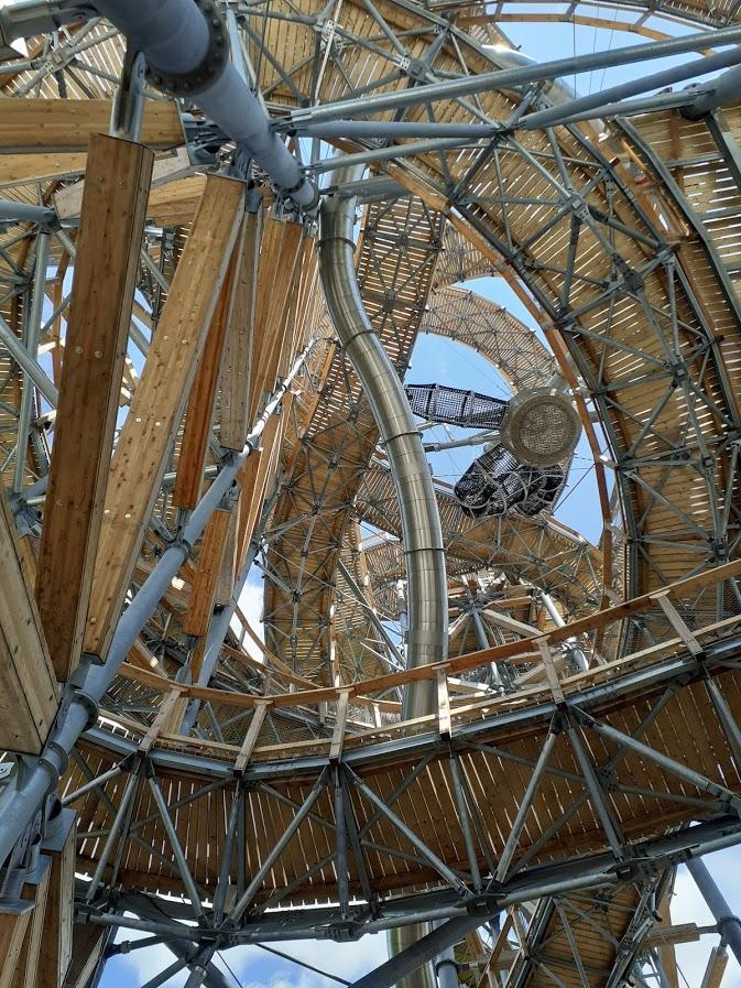 Skywalk Świeradów - tak wygląda konstrukcja wieży