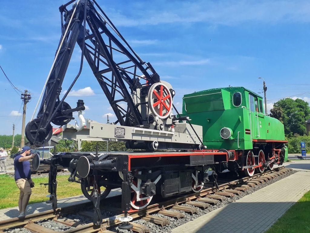 Żuraw kolejowy