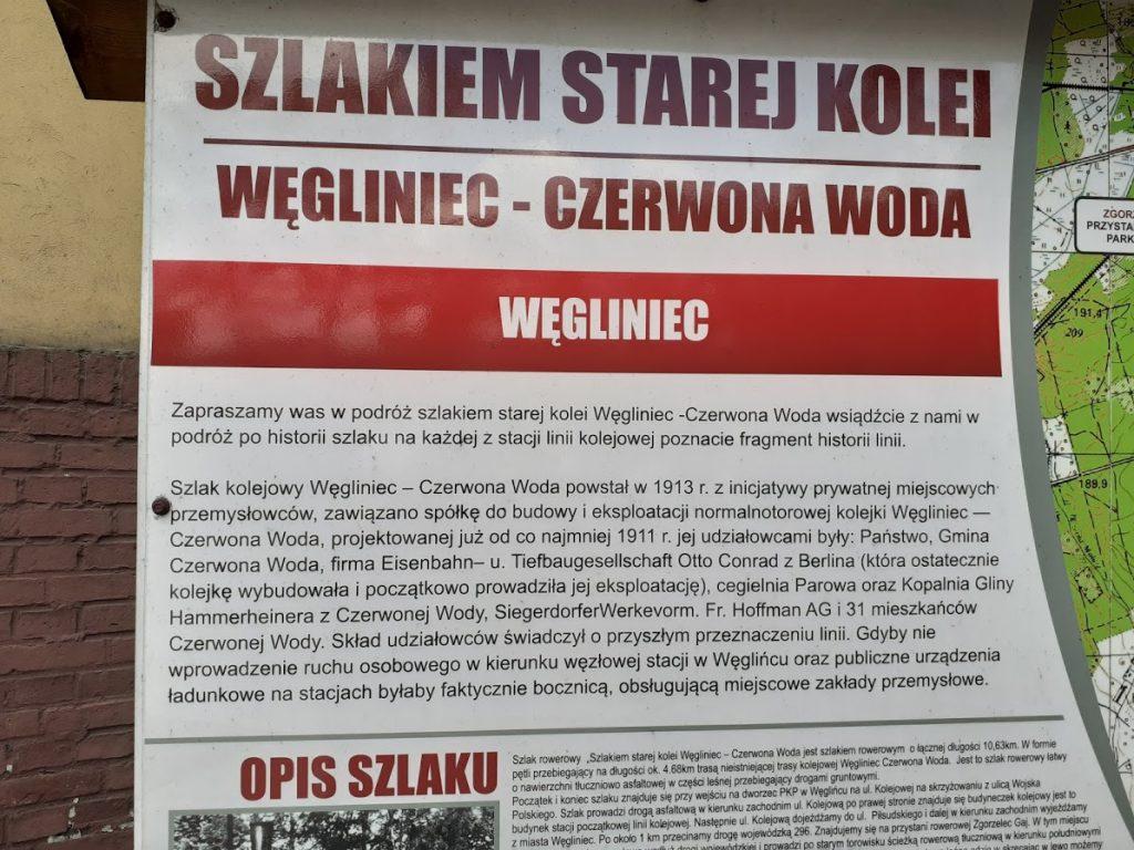Opis szlaku Węgliniec - Czerwona Woda