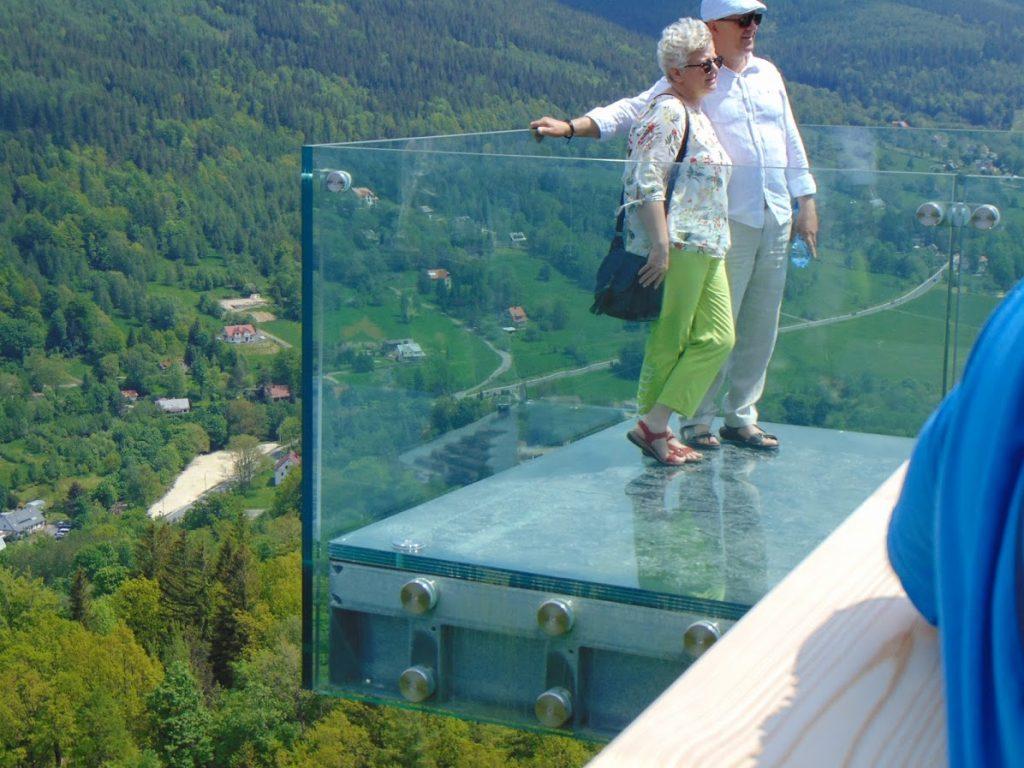 Szklana platforma widokowa
