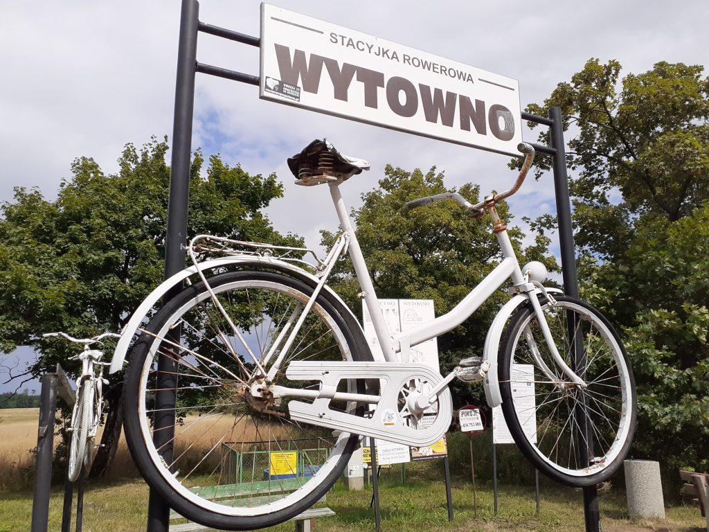 Stacyjka rowerowa w Wytownie