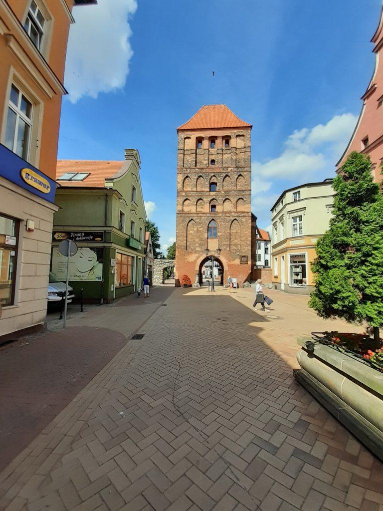 Kamieniczki w Chojnicach