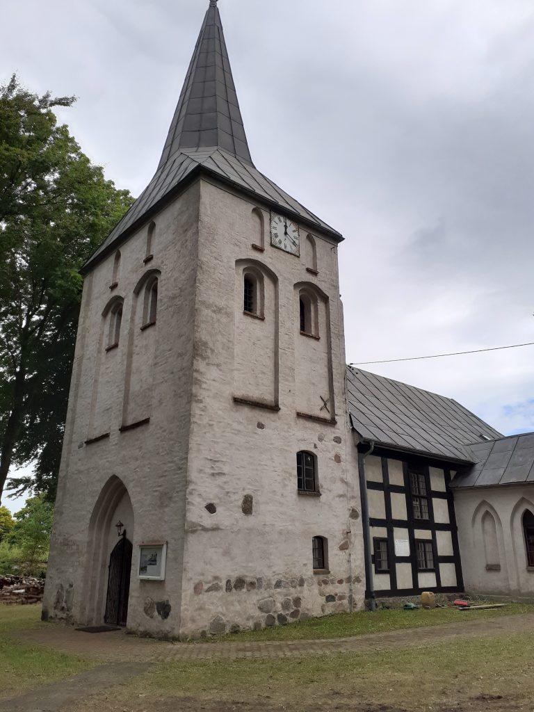 Wieża kościoła w Wytownie